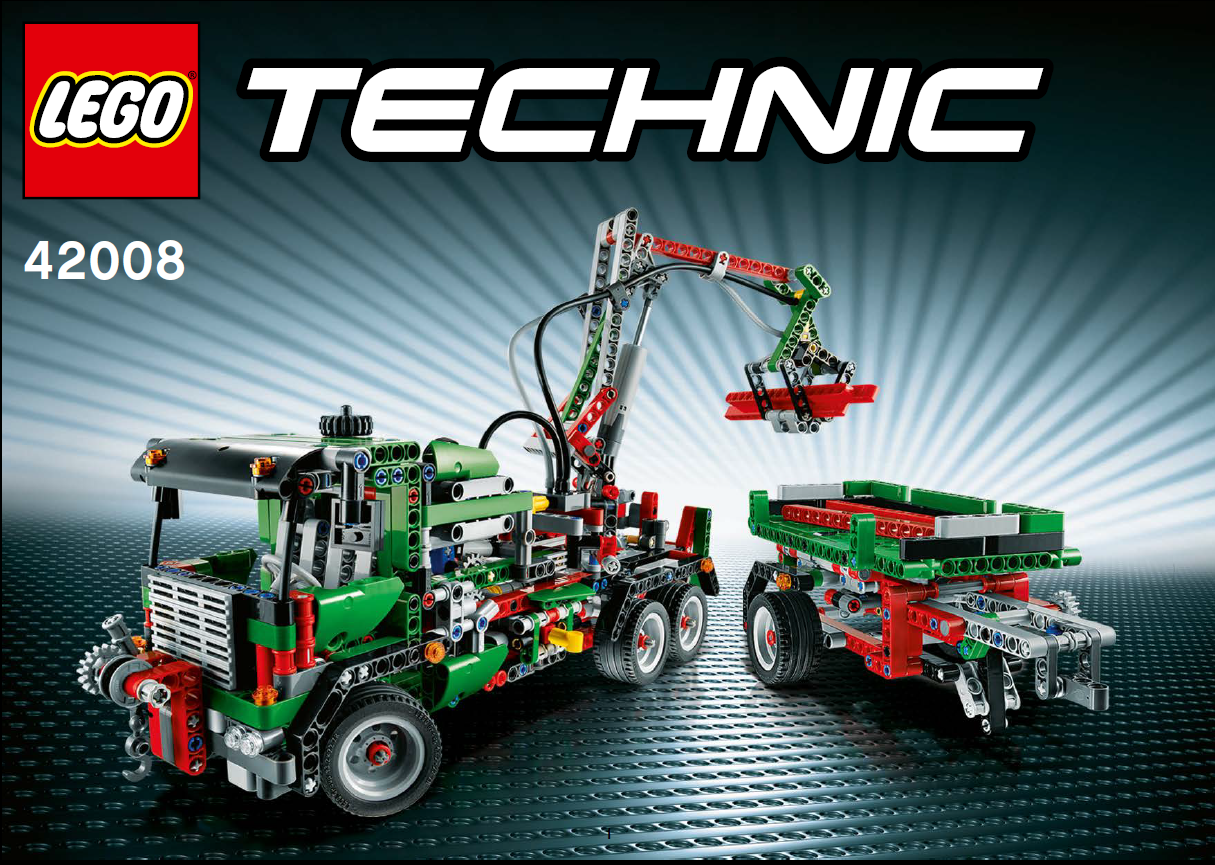 lego 42008 technic abschlepptruck new box with tracking. Black Bedroom Furniture Sets. Home Design Ideas