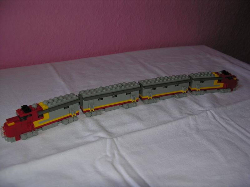 how to make a mini train
