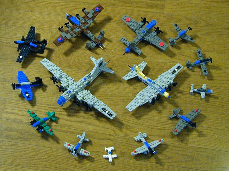 Как из лего сделать военный самолёт