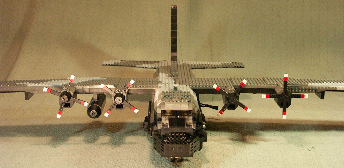 AC-130-U spectre gunship: A LEGO® creation by Simon Nielsen ...