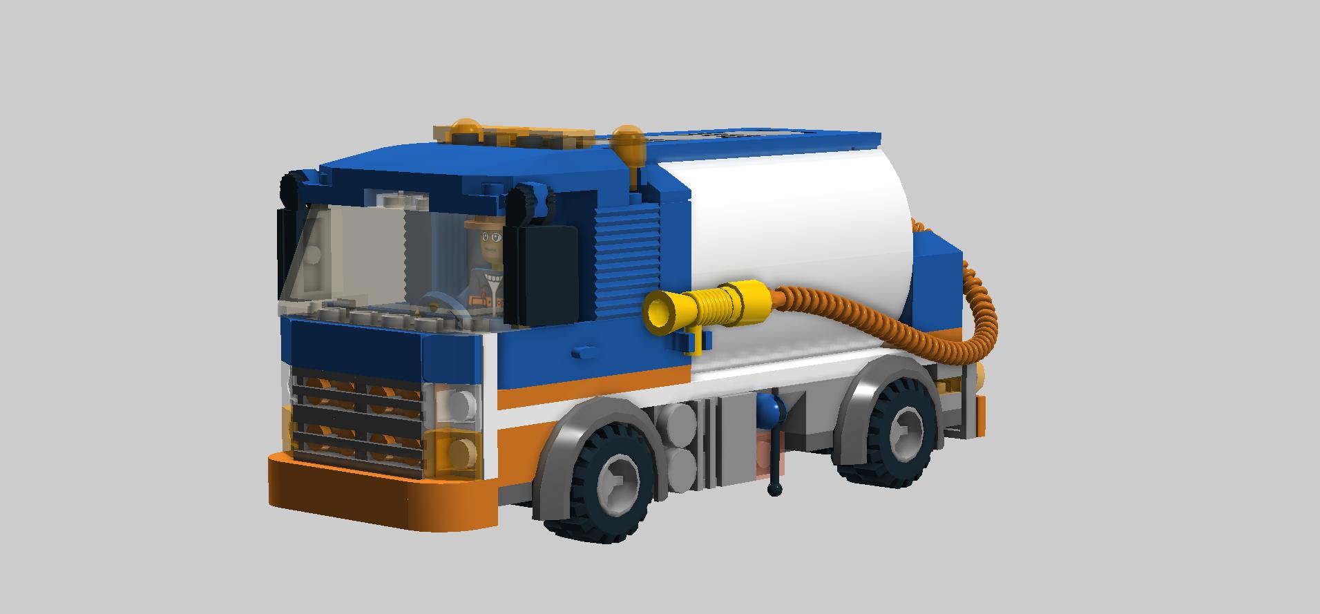 Ldd Moc Drain Cleaner Lego Town Eurobricks Forums