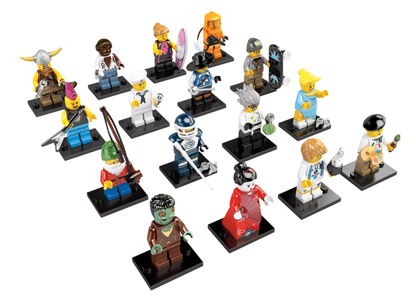 Series Four Collectible Minifigs  8804-2