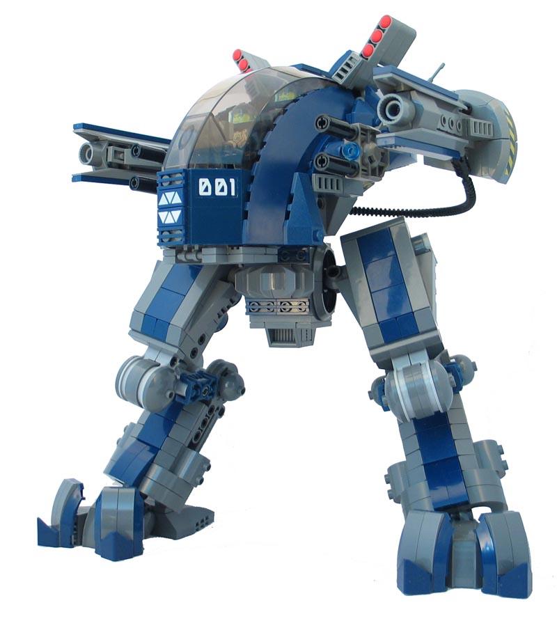 Как сделать робота военного из лего 837