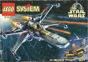 7140/7142 X-Wing Fighter