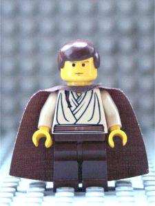 Star Wars 7101 7121 7161 7171 Yellow Lego QUI GON JINN Minifigure Head