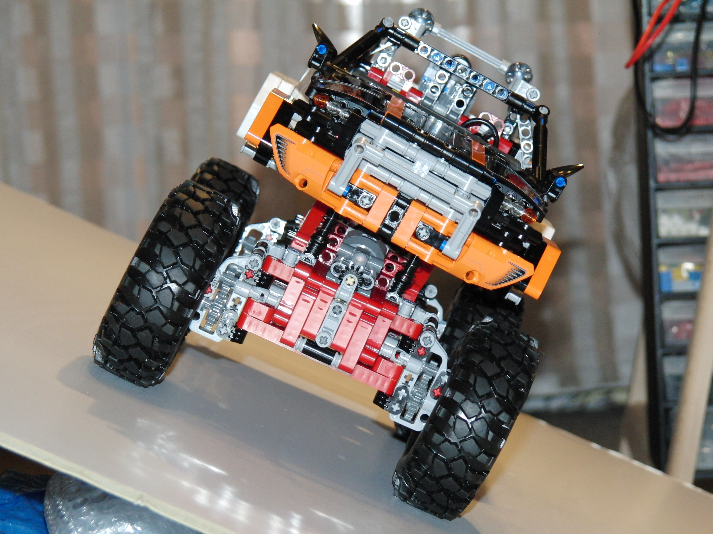 Lego Nxt Modification Lego 9398 4x4 Crawler Mod Outdoor