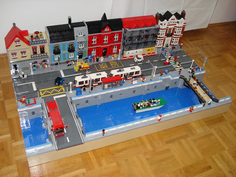 Moc City Panorama Lego Town Eurobricks Forums