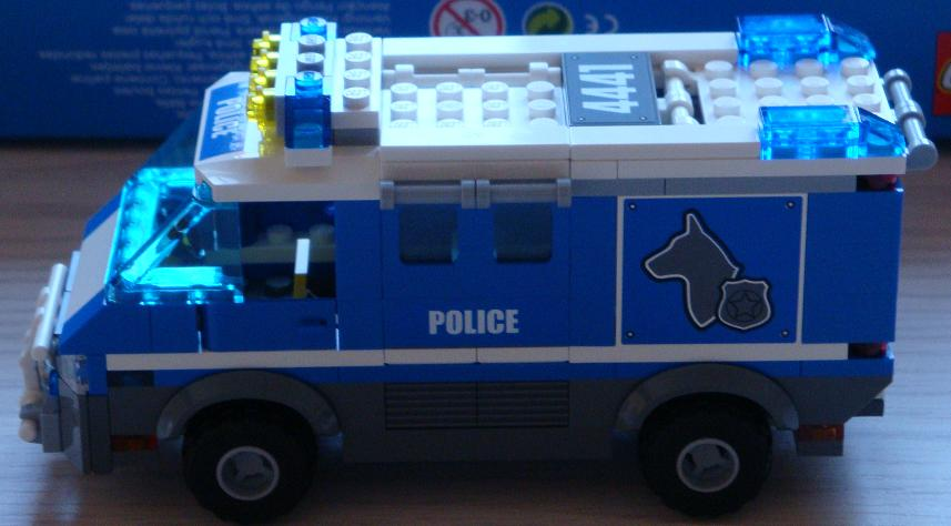 Lego Police Dog Unit Review