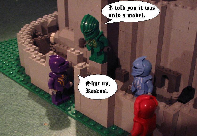 how to make lego minith tirith