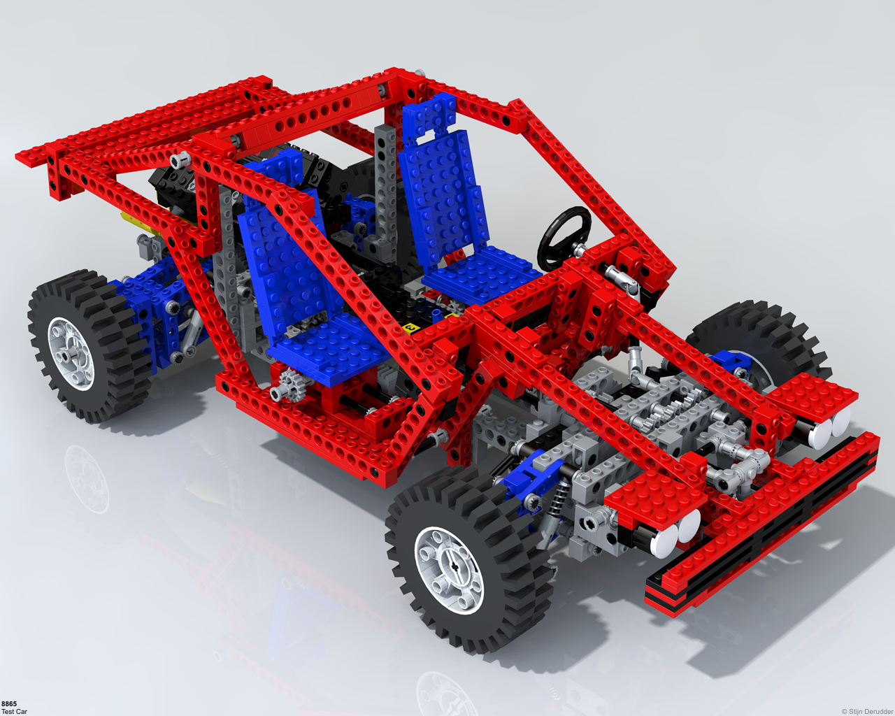 Technicbricks amazing lego technic raytraced images - Lego technic pas cher ...