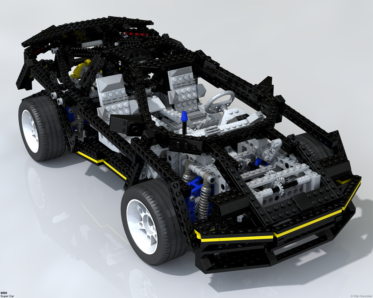 technicbricks amazing lego technic raytraced images. Black Bedroom Furniture Sets. Home Design Ideas
