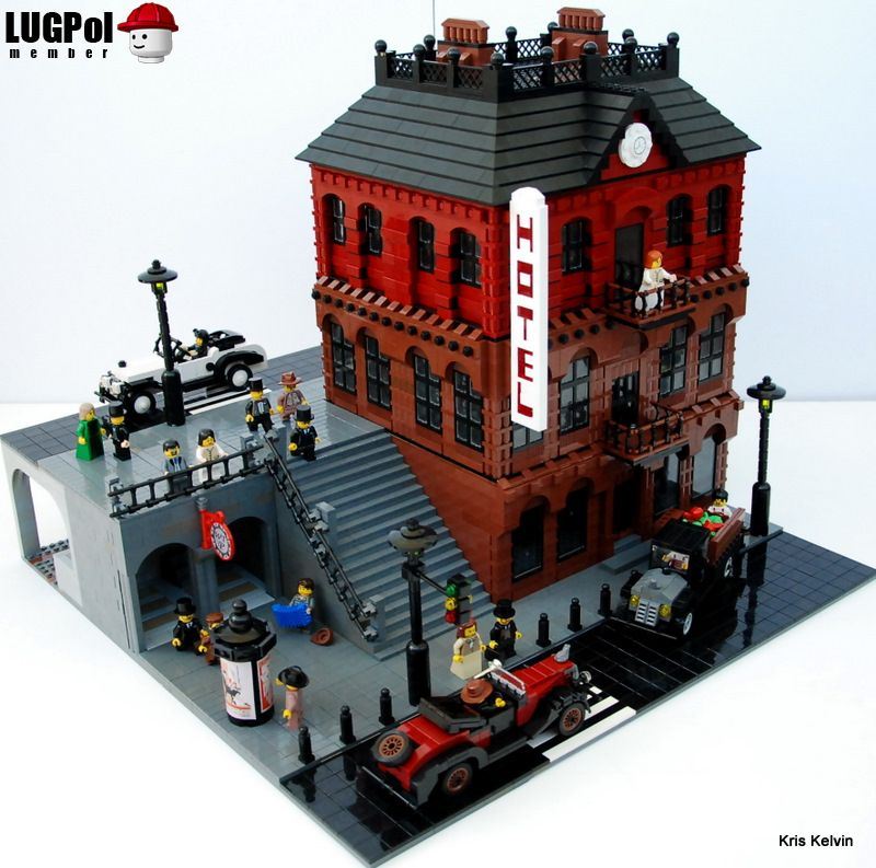 brick town talk may 2009 lego town architecture building tips inspiration ideas and more. Black Bedroom Furniture Sets. Home Design Ideas