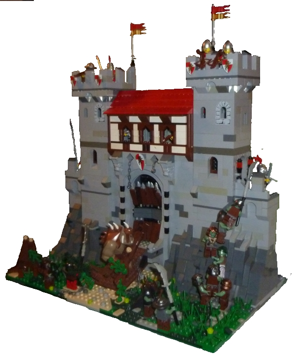 The Gate Is Always The Weakest Part Of A Castle Lego Historic