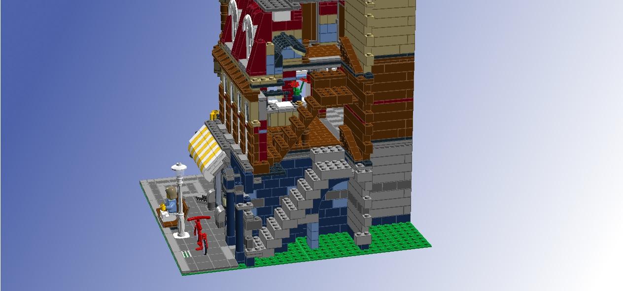 LEGO Ideas - Interior for 10182 Café Corner