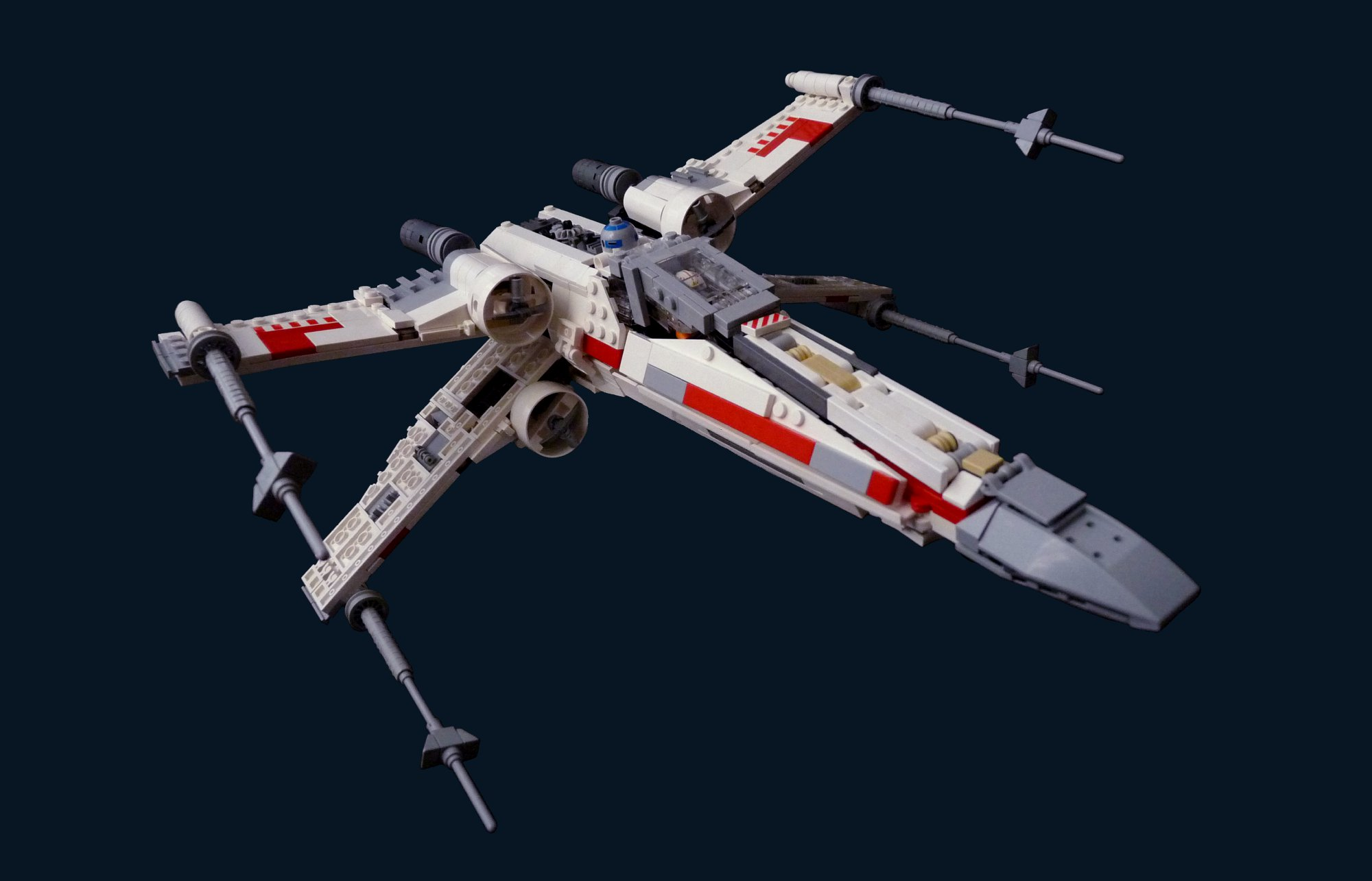 One of the most well-known starfighters in the galaxy, the x-wing forms the backbone of the rebel fleet