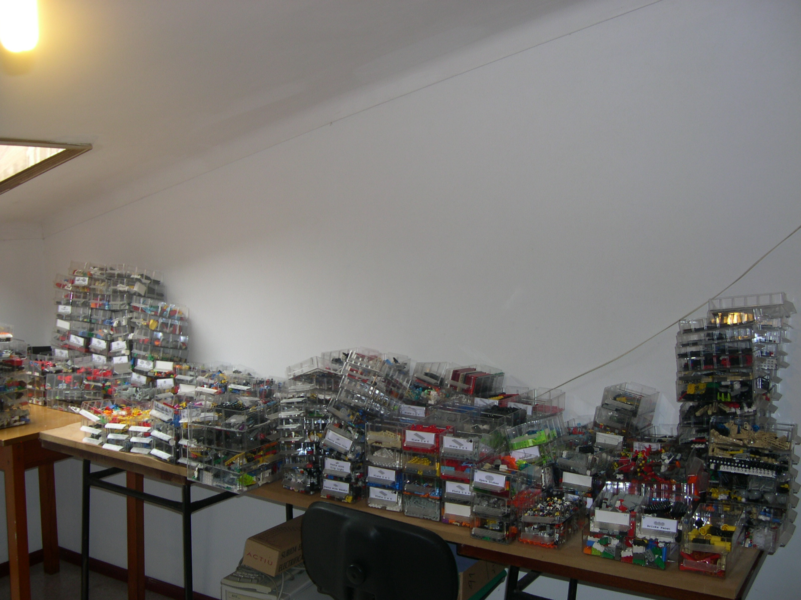 gavetas cheias