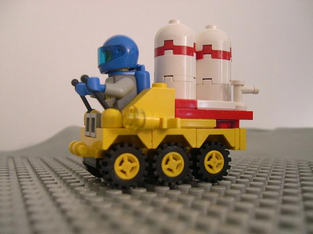 Rover S1 - Reservatórios de ar