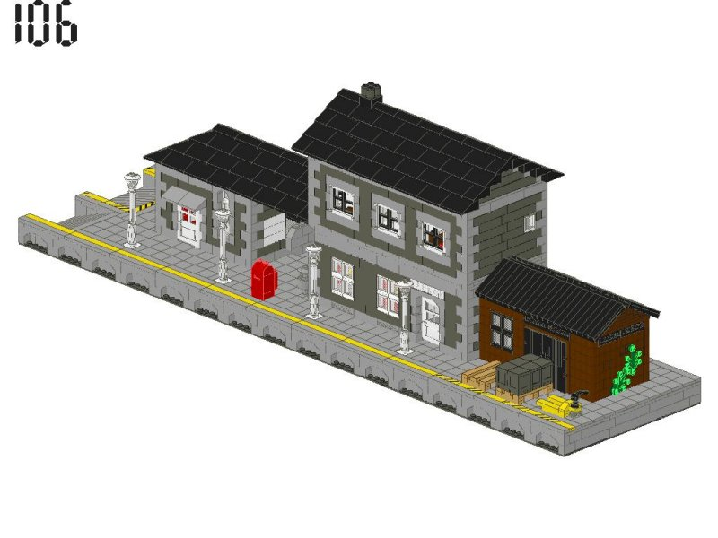 Moc Station Page 2 Lego Train Tech Eurobricks Forums