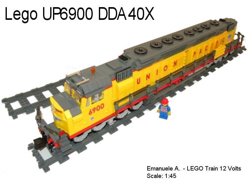 union pacific 6900 dda40x lego train tech eurobricks forums