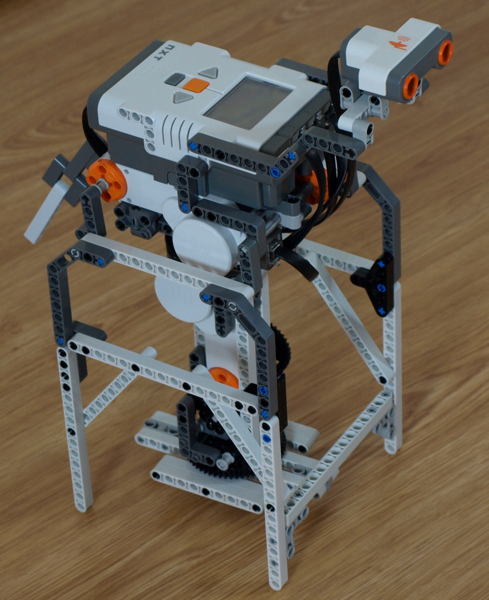 Nxt Robodog By Laurens Mindstorms Nxt Building Instructions
