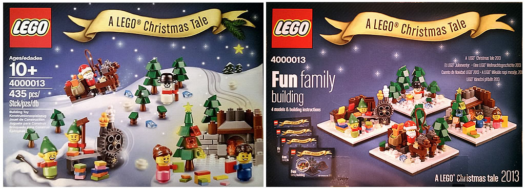 Review Lego Christmas Tale 2013 4000013 Special Lego Themes
