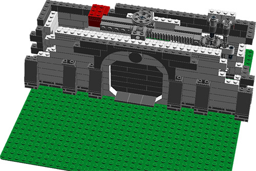 Help Mechanical Sliding Blast Doors Lego Technic