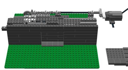 sliding_door_theory.jpg  sc 1 st  Eurobricks & HELP] Mechanical Sliding Blast Doors - LEGO Technic Mindstorms ...