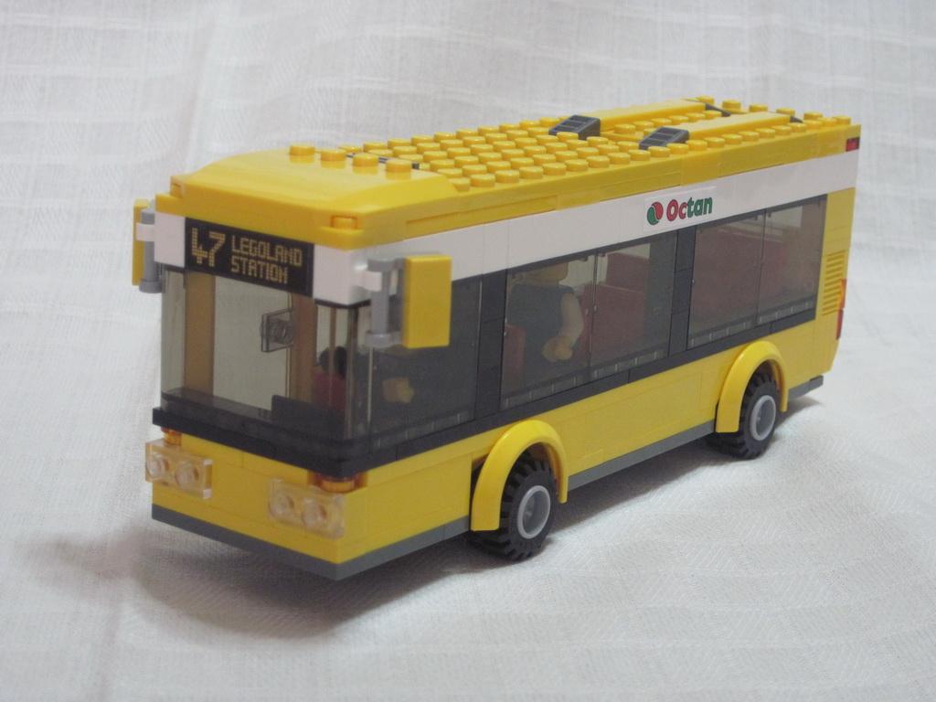 MOC: City bus - LEGO Town - Eurobricks Forums