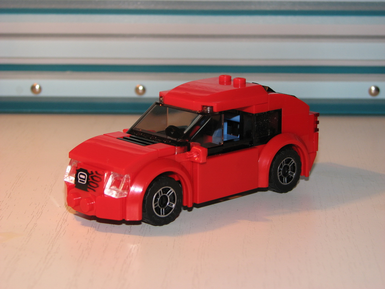 Red Sport Car: A LEGO® Creation By Lego Amaryl From Trantor : MOCpages.