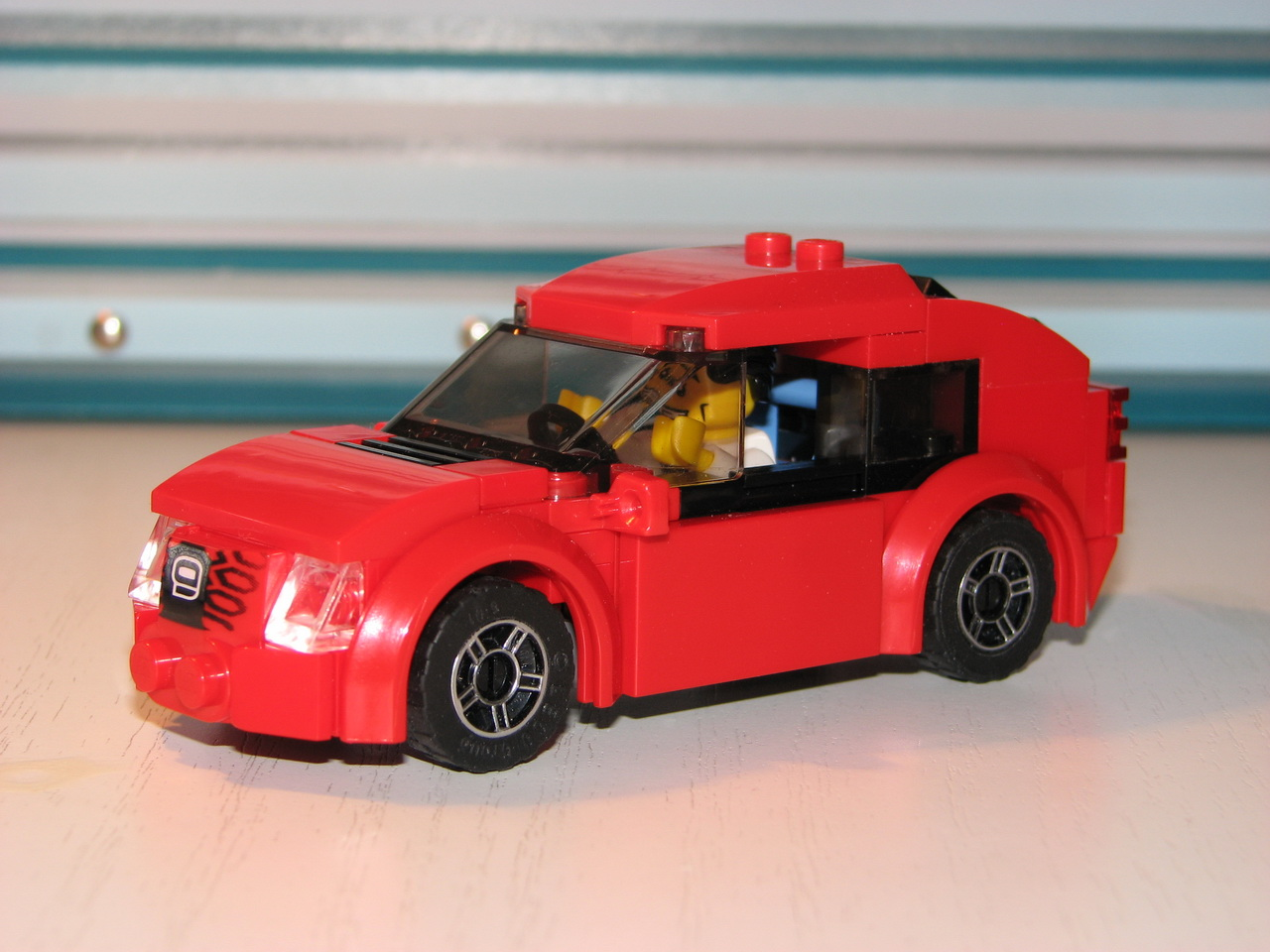 Marvelous Red Sport Car: A LEGO® Creation By Lego Amaryl From Trantor : MOCpages.com
