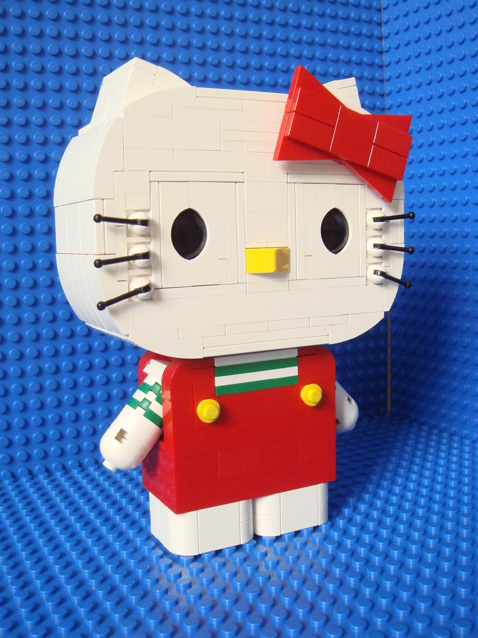 hello kitty lego slaapkamer : Hello Kitty by Legokinsfolk