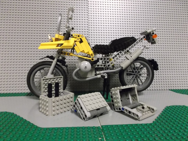 lego technic motorcycles bmw gs 1200 by legomotive. Black Bedroom Furniture Sets. Home Design Ideas