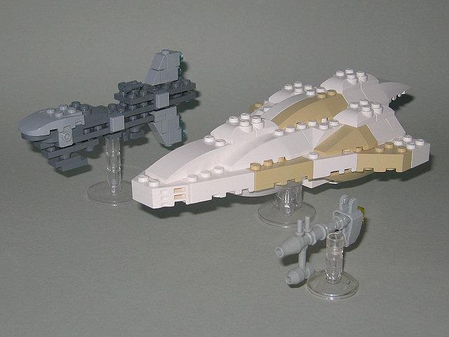 Midi Star Destroyer under attack! The Rebels arrived... - LEGO Star ...