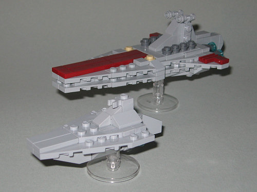 New Mini Acclamator Assault Ship Lego Star Wars Eurobricks Forums