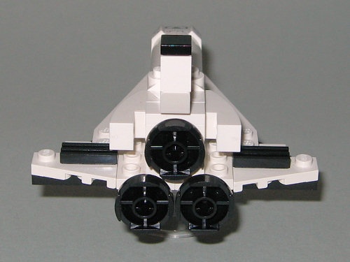 lego mini space shuttle instructions - photo #36