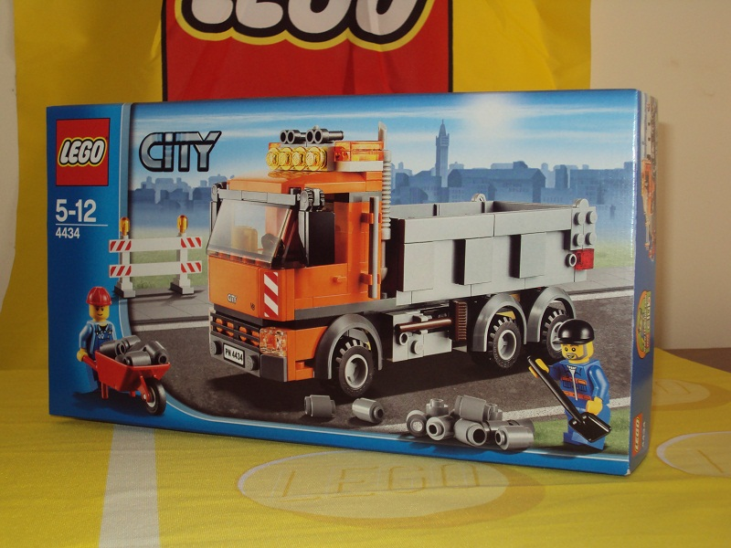 Review 4434 Dump Truck Lego Town Eurobricks Forums