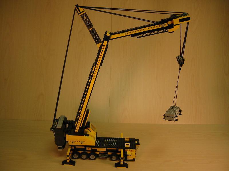 August S Lego Technic Challenge Lifting Cranes Lego