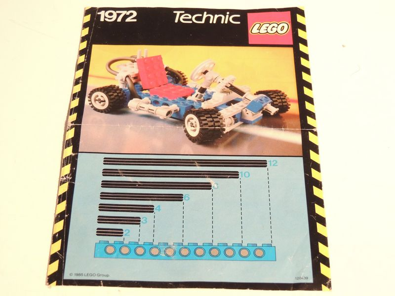 lego technic go kart instructions