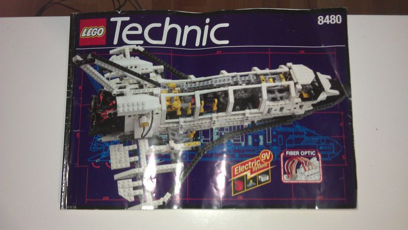 lego technic space shuttle 8480 ebay - photo #17