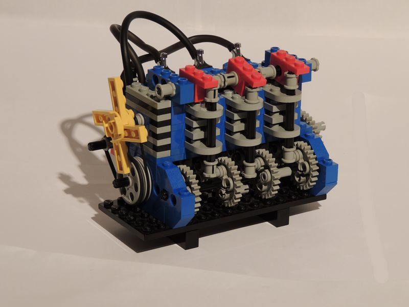 Pictorial Review 858 Auto Engines Lego Technic And Model Team