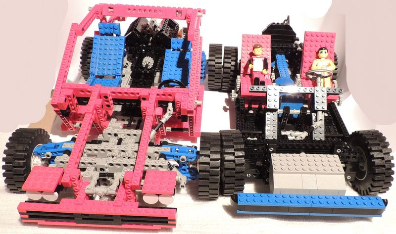 review 8865 test car jeep lego technic and model team. Black Bedroom Furniture Sets. Home Design Ideas