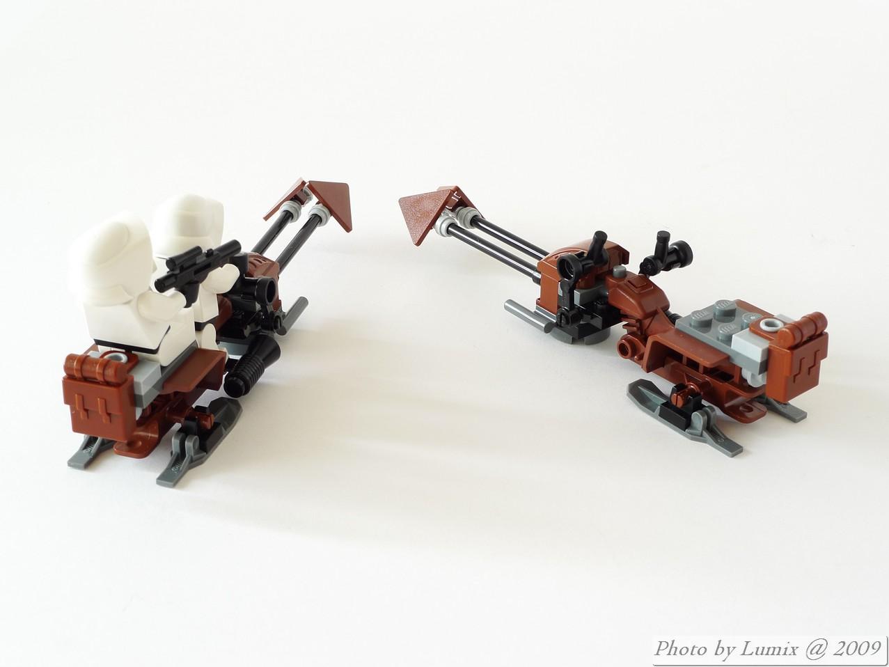La batalla de Endor star wars lego (megapost)