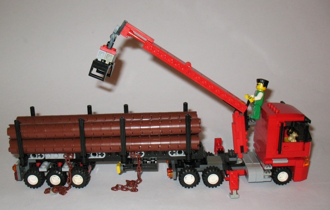 lego logging truck - photo #33
