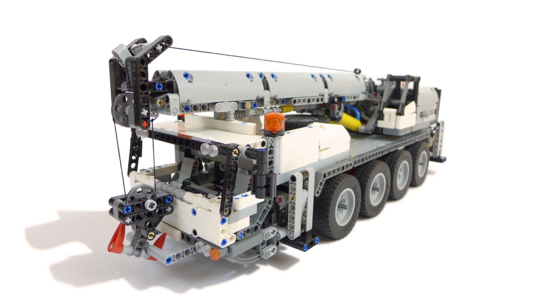 42043 c model mobile crane lego technic mindstorms. Black Bedroom Furniture Sets. Home Design Ideas