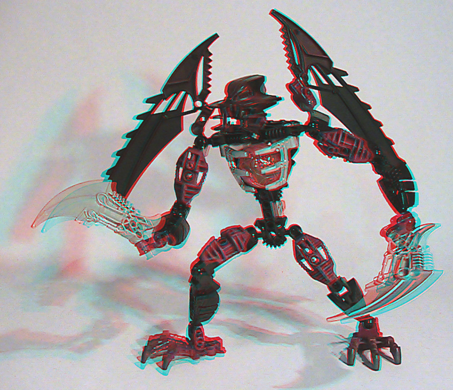 [fans arts]image bionicle 3D 8691