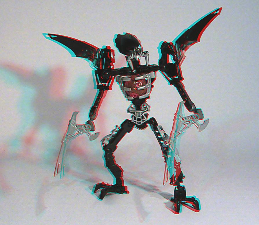 [fans arts]image bionicle 3D 8693