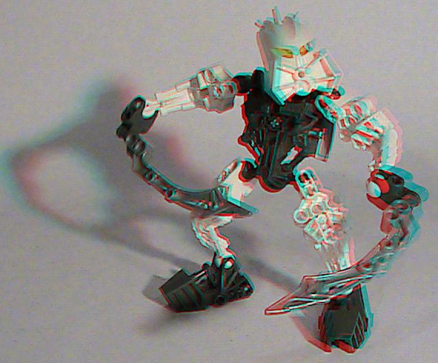 [fans arts]image bionicle 3D 8945