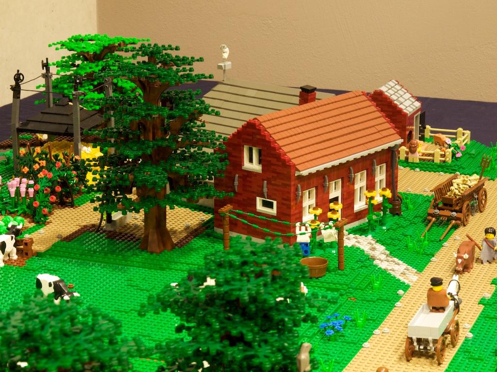 old mcbricker hat einen neuen bauernhof :: lego bei 1000steine.de