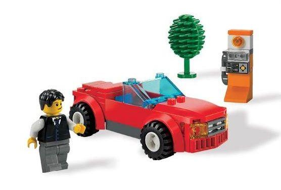review 8402 sports car lego town eurobricks forums. Black Bedroom Furniture Sets. Home Design Ideas