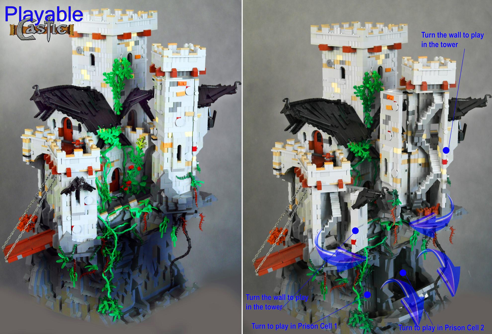 forum mi o nik w klock w lego view topic bawialny zamek. Black Bedroom Furniture Sets. Home Design Ideas